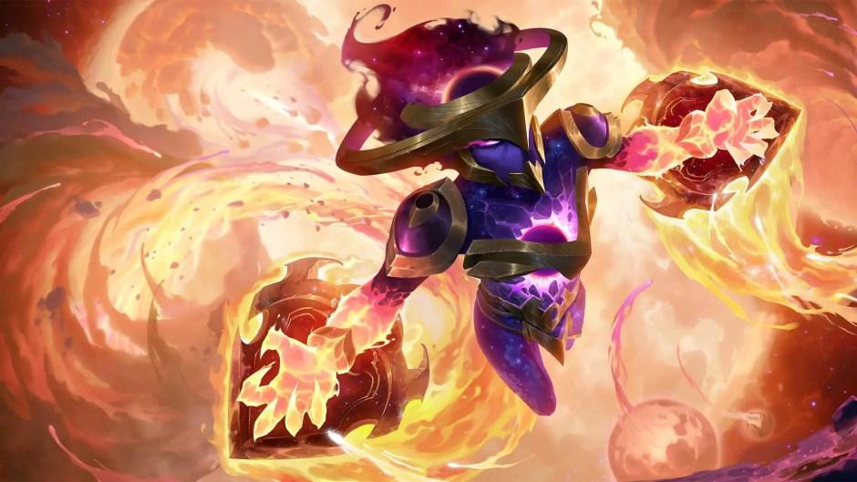 Legends of Runeterra Dark Star Shyvana
