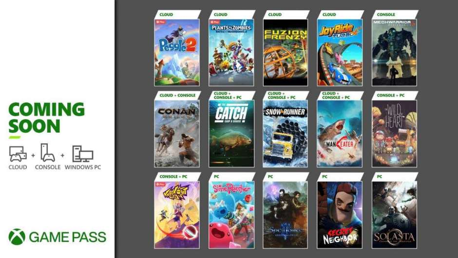 The Wild at Heart, Conan Exiles, and more coming soon to Xbox Game Pass