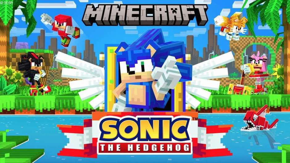 Minecraft Sonic The Hedgehog