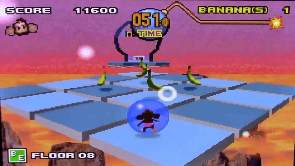 Super Monkey Ball Jr. GBA screenshot