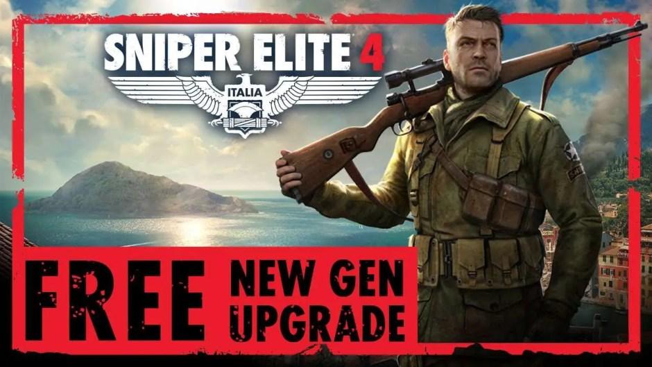 Sniper Elite 4 New-Gen update