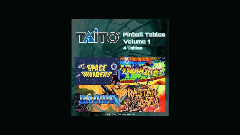 Taito Pinball Tables Volume 1