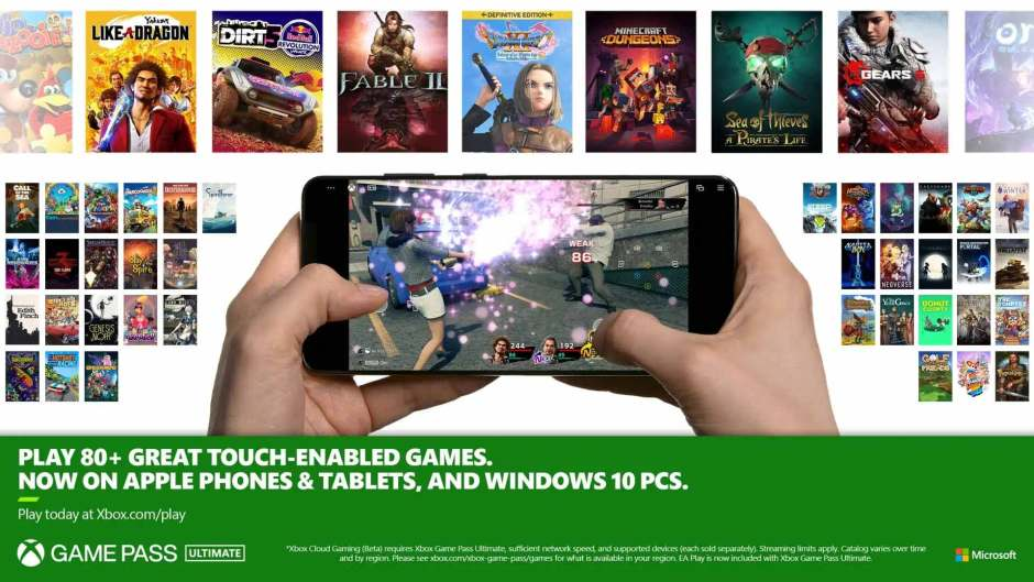Fable 1-3, Cities Skylines, and more get touch controls on Xbox Game Pass