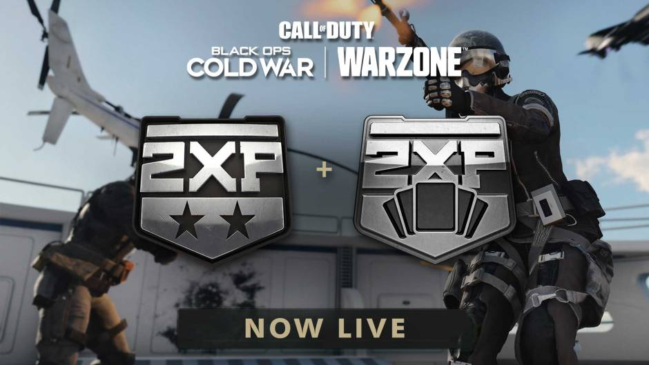 Call of Duty: Black Ops Cold War and Warzone double XP weekend