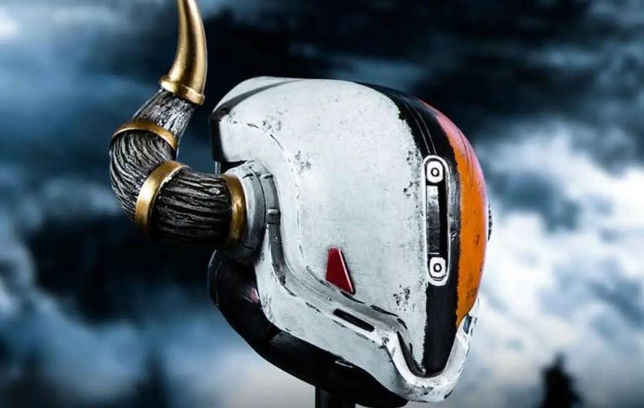 Lord Shaxx helmet Just Geek