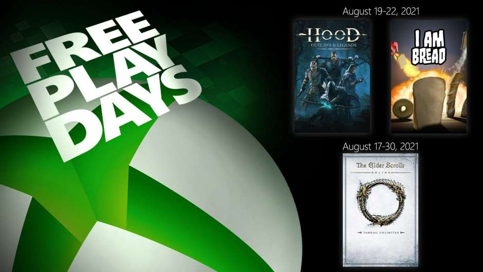 Xbox Free Play Days: The Elder Scrolls Online, Hood Outlaws and Legends, I Am Bread