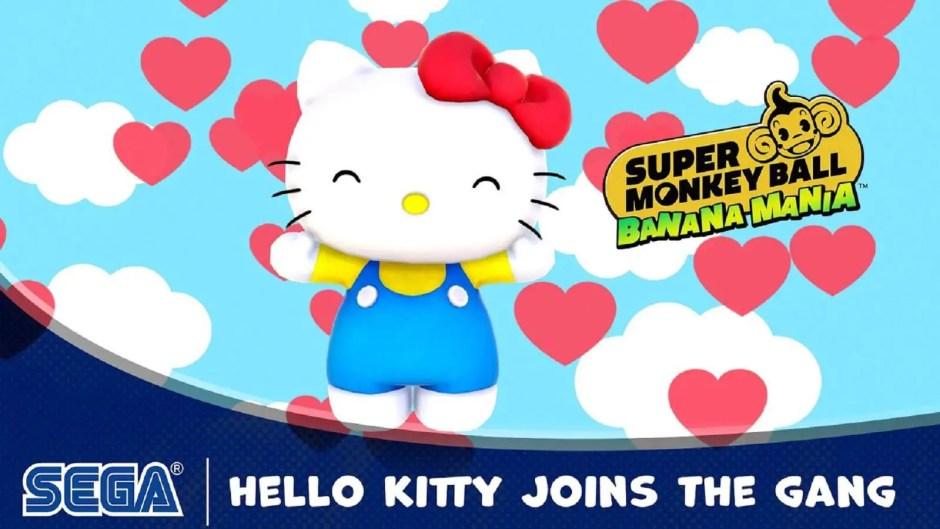Hello Kitty Super Monkey Ball Banana Mania