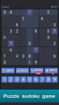 Sudoku Free Puzzle Offline Brain Number Games Top game ✅