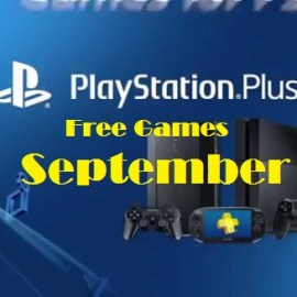 September games for PS Plus members announced.