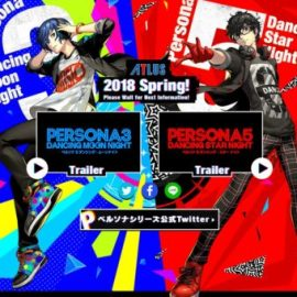 Atlus Announces Persona 3 and Persona 5 Dancing Games