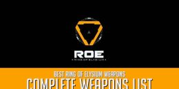 Ring of Elysium Complete Weapons List, Best Weapons in RoE