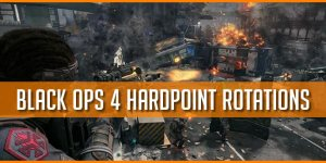 All Black Ops 4 Hardpoint Rotations, Overhead Maps