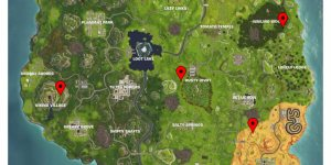 Fortnite Shooting Gallery Locations (Map), Season 6 Week 4 Challenge