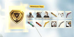 Ring of Elysium Adventurer Battle Pass Season 1 Rewards