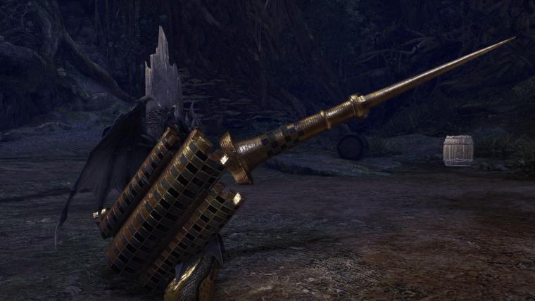 Tower of Babel Spear lance weapon monster hunter world