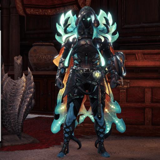 namielle monster hunter world armor set