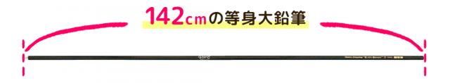142cm美少女キャラの等身大鉛筆が完成創業70年の文具メーカー「北星鉛筆」とコラボ製作~文具擬人化RPG『ステリアデイズ・ウィキッド』~