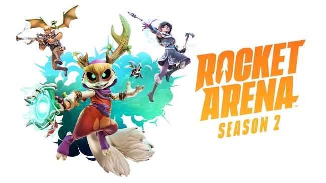 『ロケットアリーナ』シーズン2がスタート!新ヒーロー・リーフの追加をはじめ、さまざまなアップデートを実施