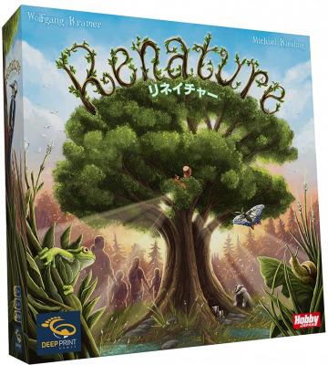 動物ドミノを配置する環境がテーマのボードゲーム『リネイチャー』日本語版 好評発売中!