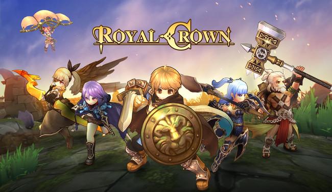 LINE Games、マルチプラットフォームMOBA『ロイヤルクラウン』を日本にてサービス開始