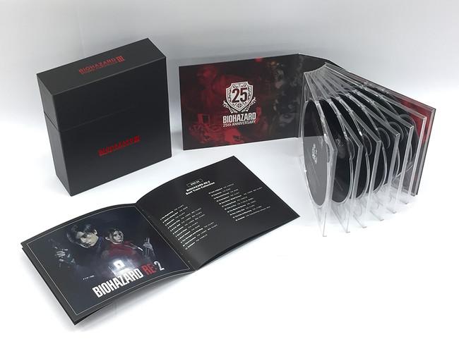バイオハザード25周年を記念する豪華7枚組CD-BOXが登場!