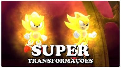 Sonic - Super Transformações - Imagem