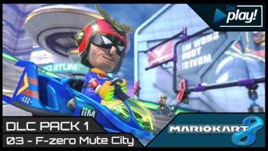 RK Play - F-Zero Mute City - Mario Kart 8 - Imagem