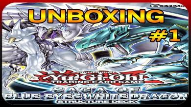 Unboxing Yu Gi Oh - FH Nook - Imagem