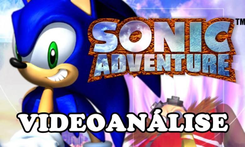 Sonic Adventure - Imagem VideoAnalise - Planeta Sonic