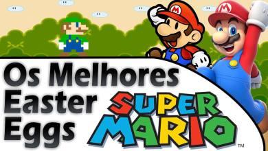 Super Mario - Easter Eggs - Jiraya Plays - Imagem