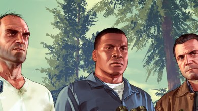 GTA V - Personagens - Banner Art