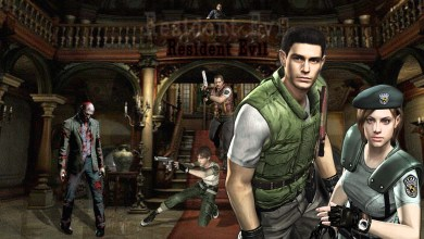 Resident Evil HD - Personagens e Zumbis