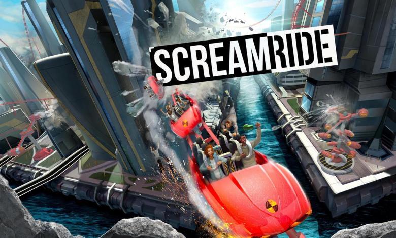 Screamride - Xbox One - KeyArt