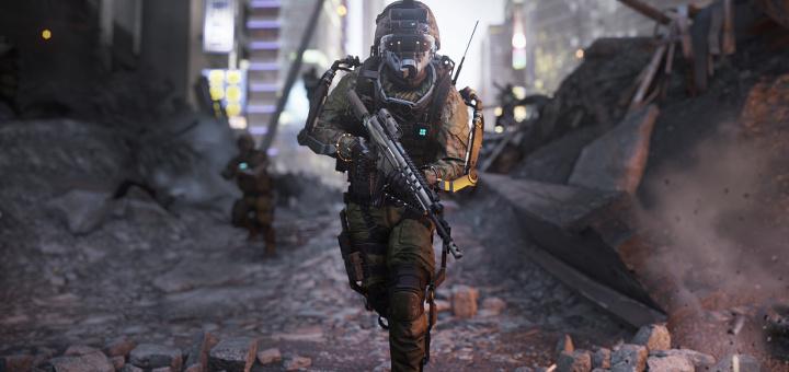 Call of Duty - Advanced Warfare - Soldier Screen Index