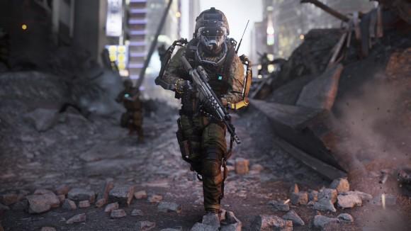 Call of Duty - Advanced Warfare - Soldier Screenshot Full HD - Wallpaper