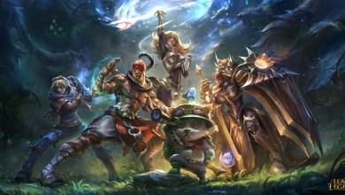 League of Legends - Heroes - Team - Art