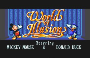 World of Illusion – De volta ao mundo encantado Disney nos 16 bits!