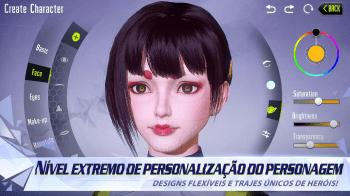 Confira a customização em Cyber Hunter