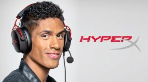 Jogador de futebol Raphaël Varane é o novo embaixador da HyperX