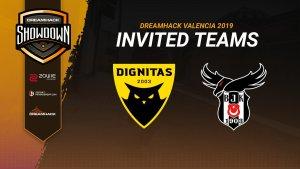 Beşiktaş e Dignitas recebem convites para DreamHack Showdown