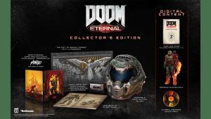 E3 - Edição de Colecionador de Doom Eternal traz capacete em tamanho real