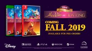 Jogos clássicos de Aladdin e O Rei Leão do Mega Drive e SNES ganharão remasterizações