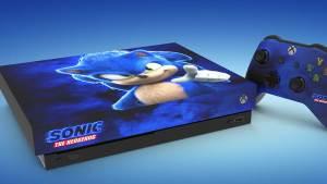 Microsoft sorteará um Xbox One X com temática do filme do Sonic