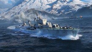 World of Warships recebe novos destróieres europeus