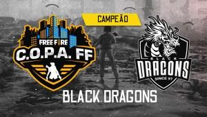 Black Dragons é a campeã da C.O.P.A. Free Fire