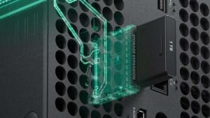 Microsoft do Brasil lista cartão de expansão SSD para Xbox Series por R$ 2.299