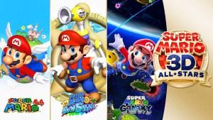 Super Mario 3D All-Stars chega em 18 de setembro para Nintendo Switch
