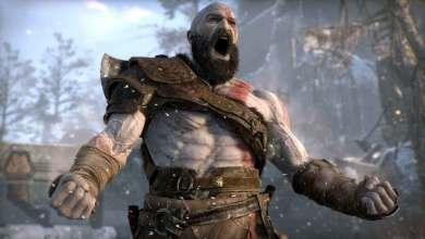 God of War no PS5 em 4K e 60 fps