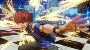 Chris é confirmado em The King of Fighters XV e completa o Team Orochi
