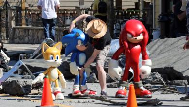 Knuckles é confirmado em Sonic 2: O Filme nas fotos de bastidores